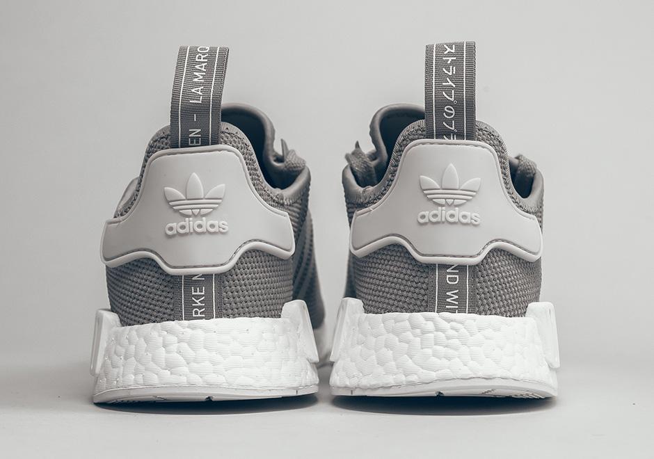 adidas NMD R1 灰 白配色 细节图 资讯 AJ23 Air Jordan Sneaker