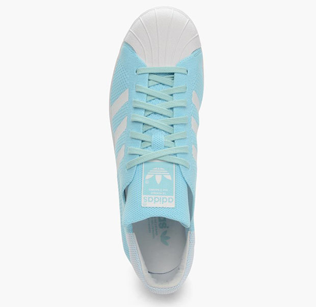 adidas Superstar Primeknit Ice Green S74964  
