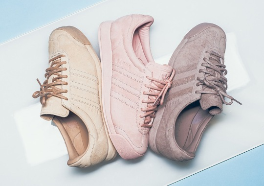 """The adidas Samoa Starts A Pivotal Summer With """"Pigskin"""" Pack"""