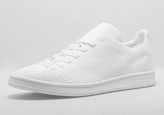 """The adidas Stan Smith Primeknit """"Triple White"""" Deserves The Hype Too"""