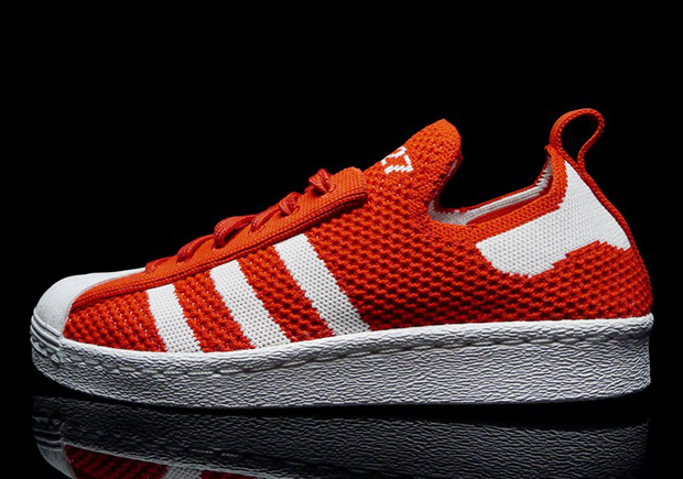 adidas Superstar Primeknit RedWhite S75427 |