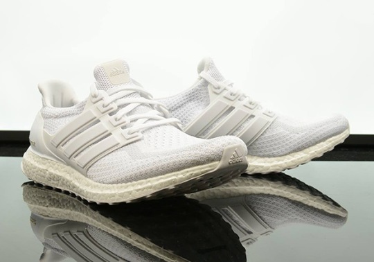Triple White adidas Ultra Boosts Just Released