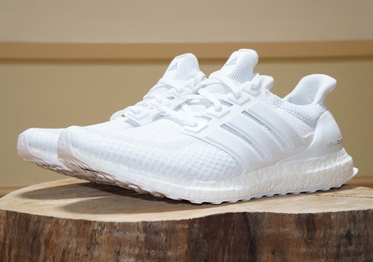 Triple White adidas Ultra Boosts Are Releasing Again Next Week