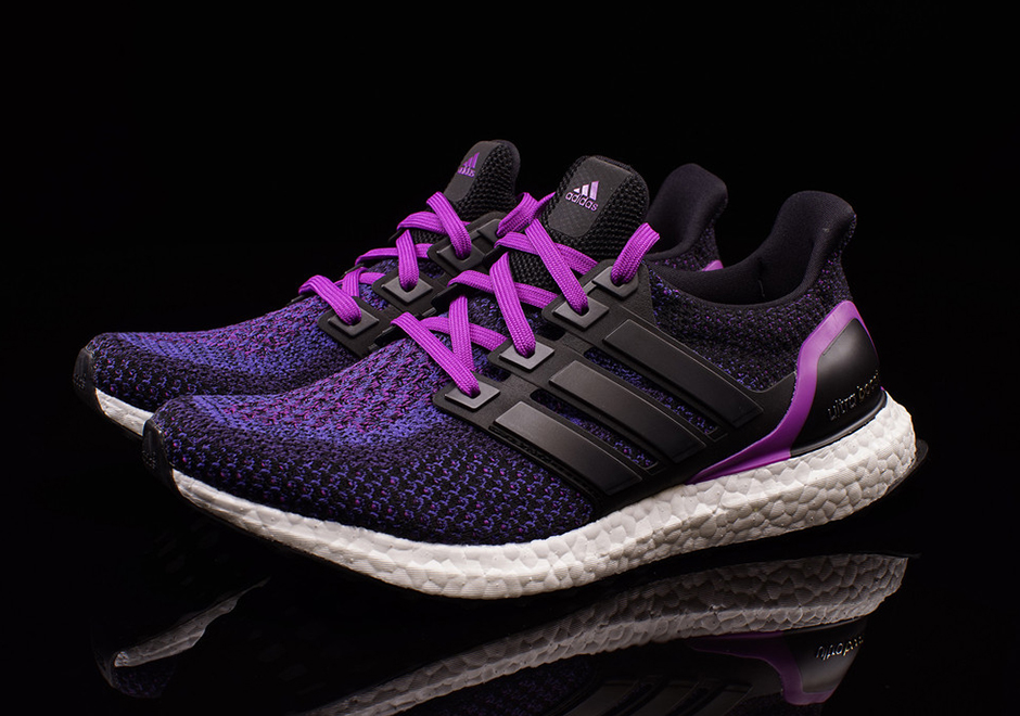 95f8cc509 adidas Ultra Boost Women s Black Purple AQ5935