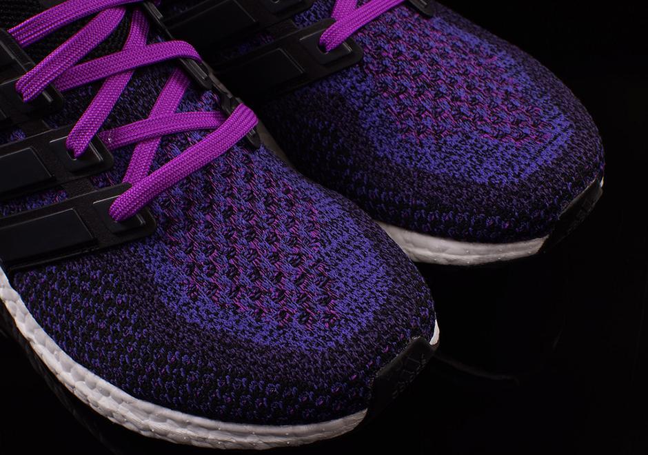 caddedab62a0b adidas Ultra Boost Women s Black Purple AQ5935