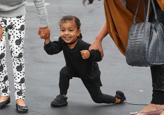 Kim Kardashian Confirms Release Info For Baby Yeezys