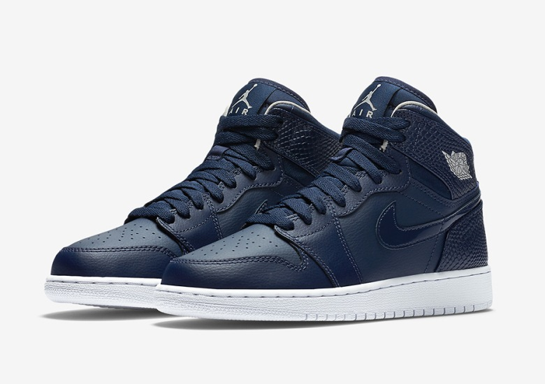 00ff138c5e0 Another Kids Only Air Jordan 1 Releases In Navy Blue