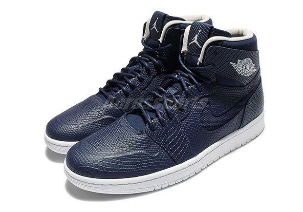 """If the snakeskin style of the Air Jordan 1 """"Pinnacle"""" series was just a bit  too expensive for you, then you can take solace in knowing that the Jumpman  is ..."""
