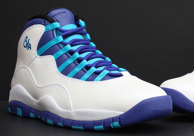 competitive price 27955 04dcc Air Jordan 10 Charlotte City Pack 310805-107 | SneakerNews.com