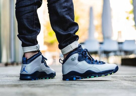 """Jordan Brand's City Pack Goes Global Again With Air Jordan 10 """"Rio"""""""