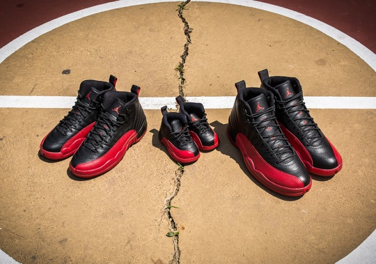 "The Air Jordan 12 ""Flu Game"" Releases For The Full Family Tomorrow"