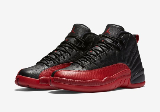 "Official Images Of The Air Jordan 12 ""Flu Game"""