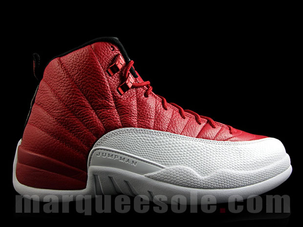 """4f9a3ef3823 Air Jordan 12 Retro """"Gym Red"""". Color: Gym Red/Black-White Style Code:  130690-600. Release Date: July 2, 2016. Price: $190"""