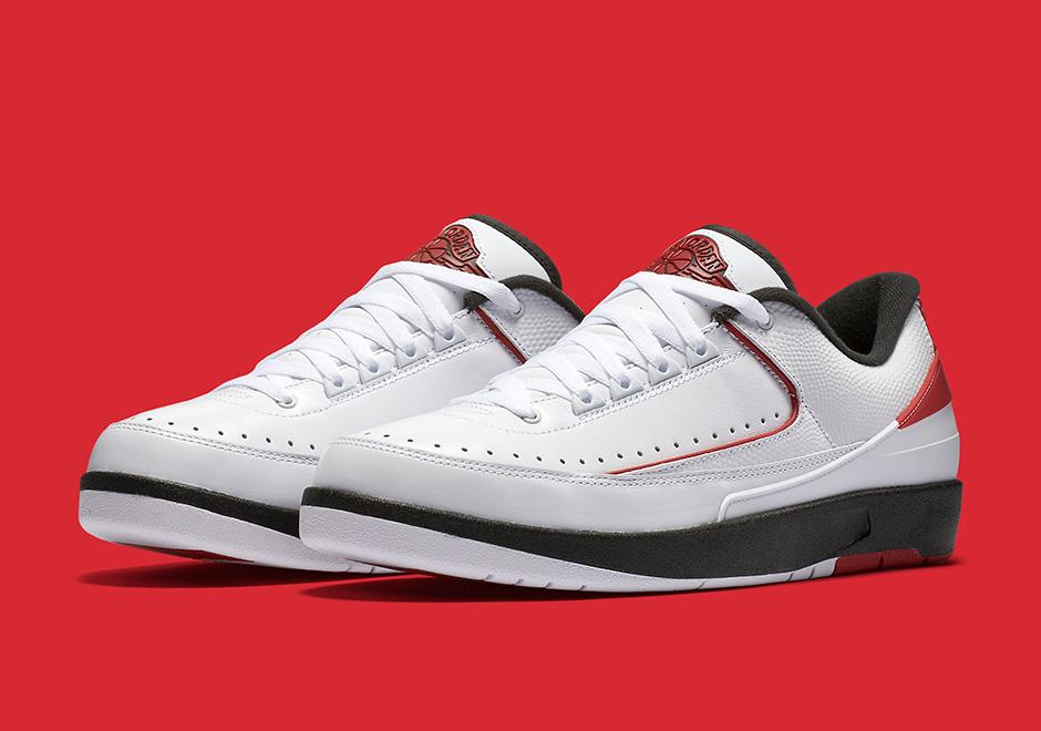 36acddc96ff Air Jordan 2 Low OG Chicago Release Date | SneakerNews.com