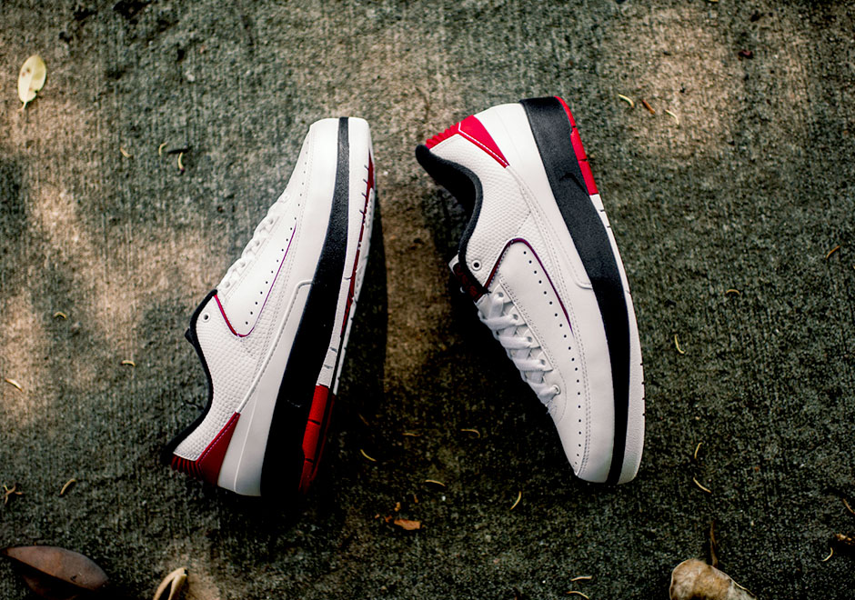 new products 6f748 5217b Air Jordan 2 Low OG Chicago Release Info   SneakerNews.com