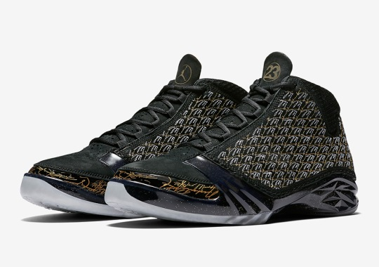 "The Air Jordan XX3 ""Trophy Room"" In Black Will Release On Nike.com"