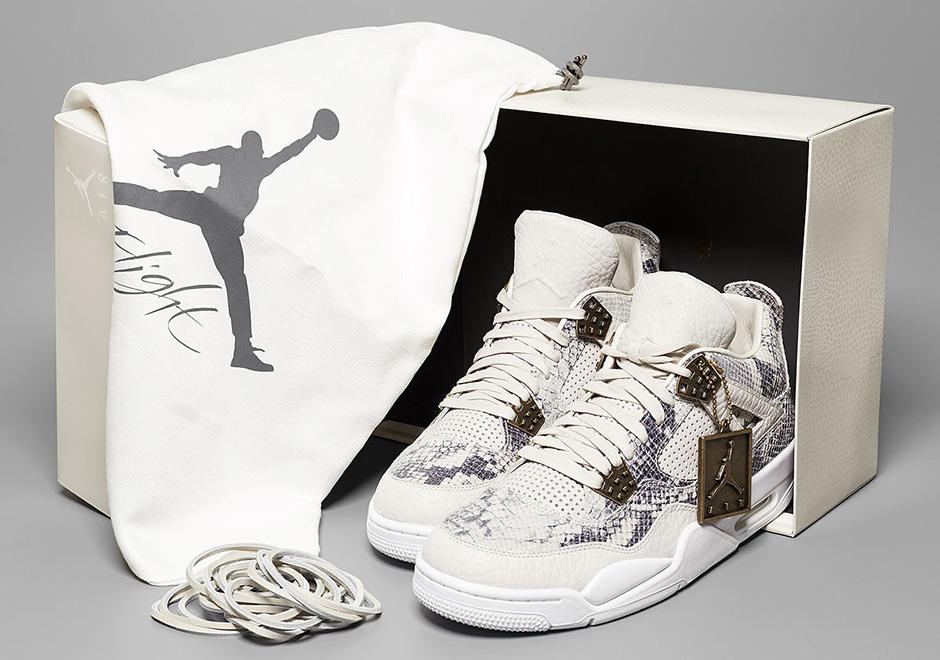 promo code 77f2f 435cf Air Jordan 4 Pinnacle Snakeskin 819139-030   SneakerNews.com