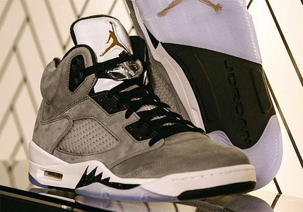 Air Jordan 5 Trophy Room Exclusive Sneakernews Com