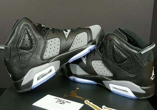 82d3e68b691 Air Jordan 6 GS Cool Grey 384665-010 | SneakerNews.com