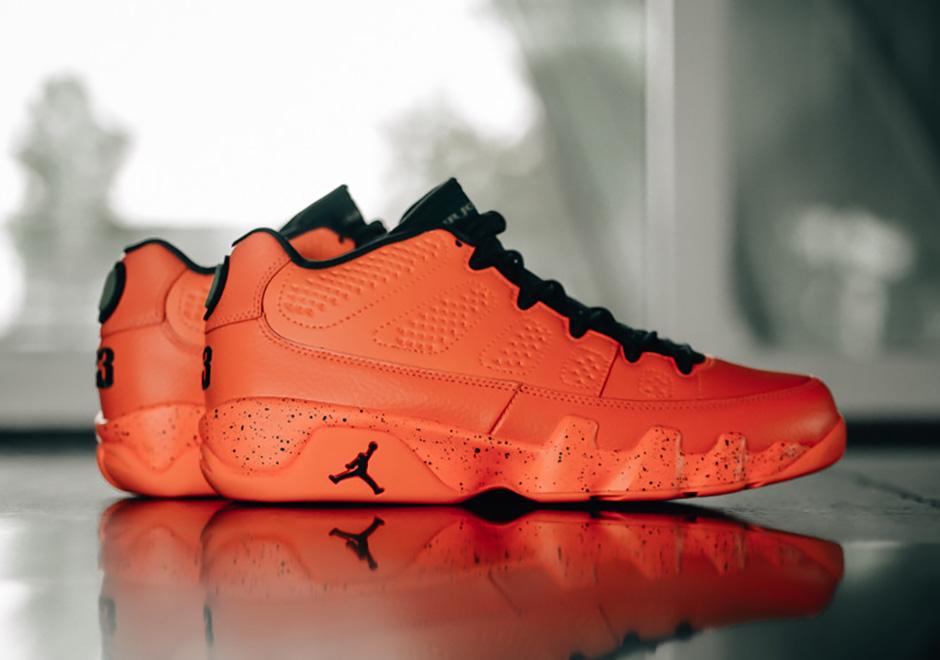 Air Jordan 9 Low Bright Mango Release