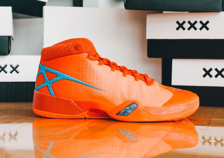 5d919580efb Jordan Brand Has Air Jordan XXX PEs Made For The OKC vs San Antonio Series