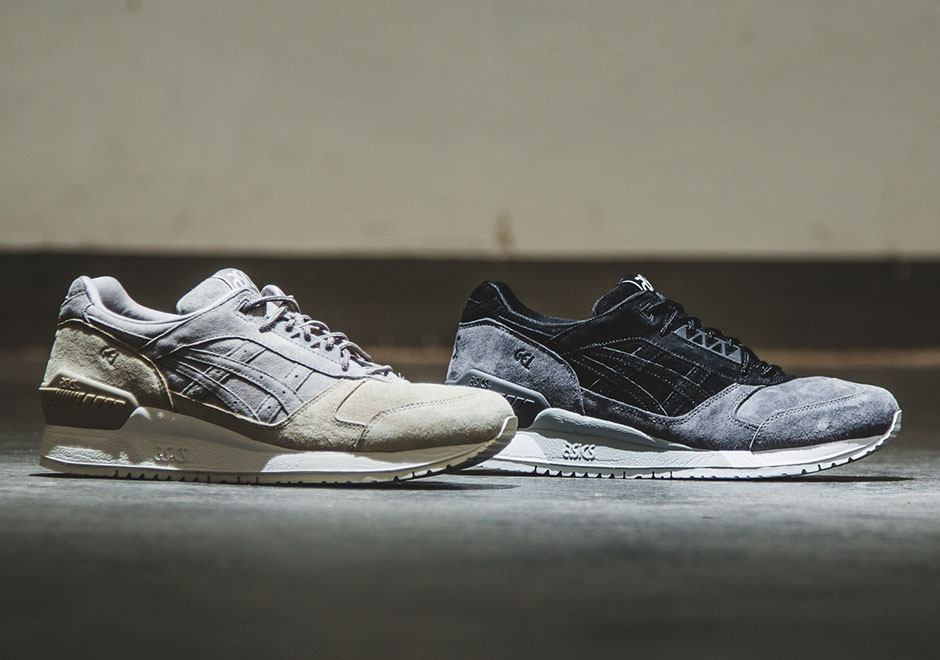 asics gel respector lt pack beige grey black. Black Bedroom Furniture Sets. Home Design Ideas