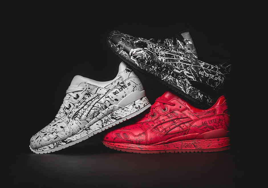 """ASICS GEL-Lyte III """"Marble Injection"""" Pack - SneakerNews.com"""