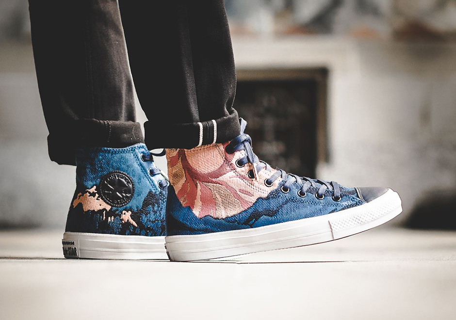 f871d613cbc2 Converse Brings Graphic Woven Uppers To The Classic Chuck Taylor All Star -  SneakerNews.com
