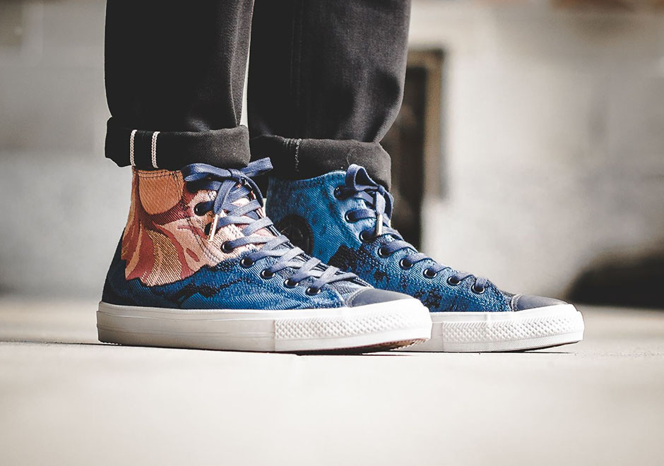 57db46847a4c Converse Brings Graphic Woven Uppers To The Classic Chuck Taylor All Star -  SneakerNews.com