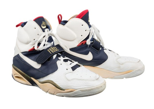 Game Worn Sneakers From The 1992 Olympic Dream Team Are Up For Grabs