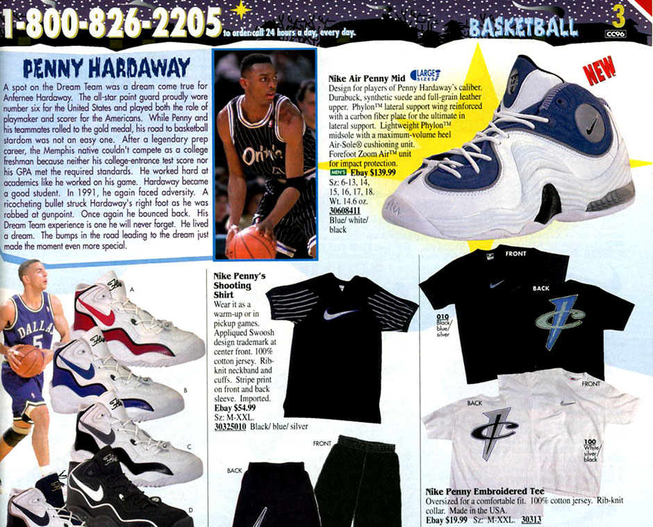 sports shoes c584e 2f701 Flashback to '96: The Nike Air Penny 2 - SneakerNews.com