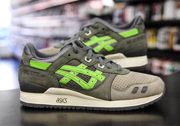 "fa9557d11404 ... Ronnie Fieg Confirms Release Of ""Super Green"" GEL-Lyte III For KITH 5  KITH x asics ..."