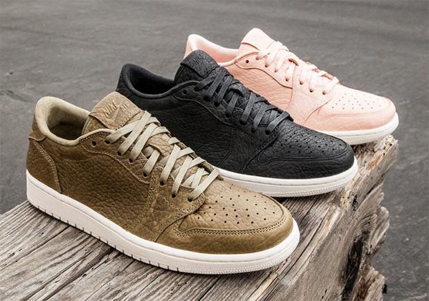 Nike Air Jordan 1 Low Swooshless
