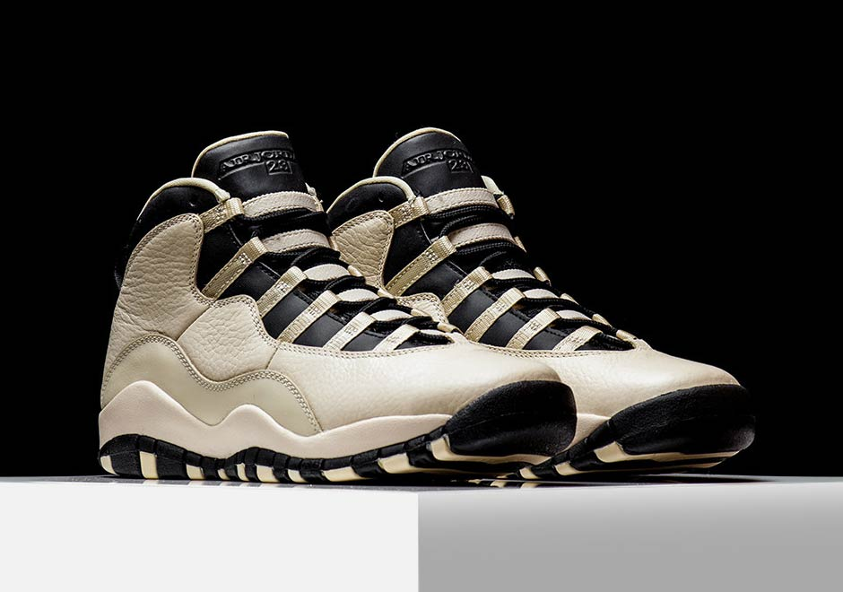 6d3a2050ef90 ... Air Jordan 10 Heiress 832645-207 SneakerNews.com Air Jordan 10 GS  Heiress Pearl White ...