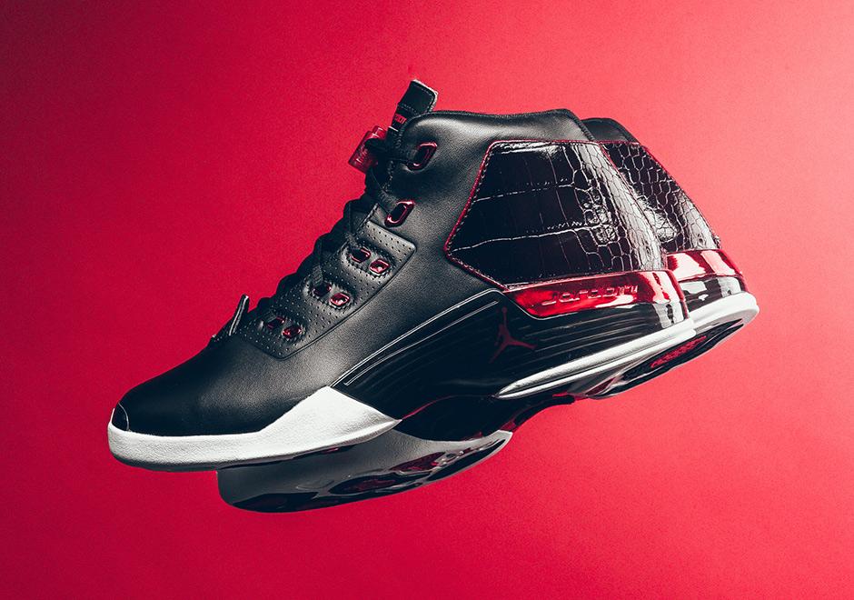 Jordan Brand Gives The Luxurious Air Jordan 17+ A Classic Look b0f67078e3b5