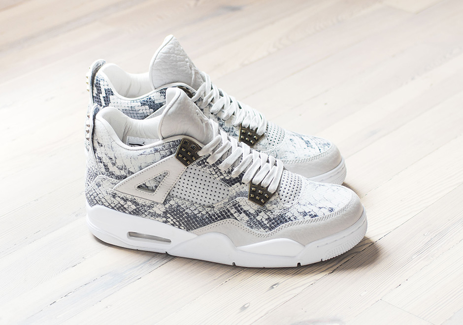 77a1ae39a43b3a Air Jordan 4 Premium Snakeskin On Feet ukpinefurniture.co.uk