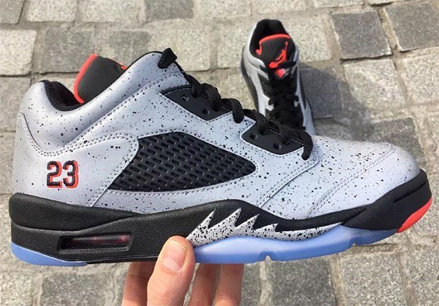 "buy popular 2c8a8 4a730 Air Jordan 5 Low ""Neymar"" Releases In June"