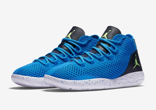 Jordan Reveal In Photo Blue And Ghost Green