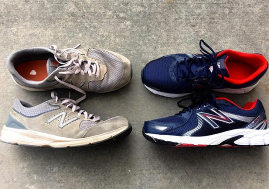 Man Walks Across The United States In New Balance Running Shoes