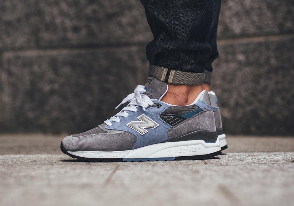 New Balance 998 Grey Light Blue