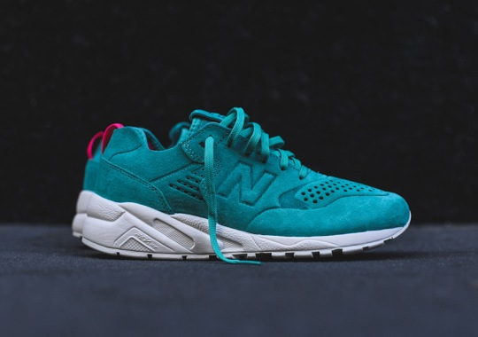 Coral Reef Teal On The New Balance MT580 Deconstructed