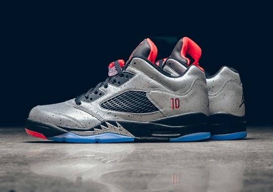 Neymar's Air Jordan 5 Low Releases Next Week