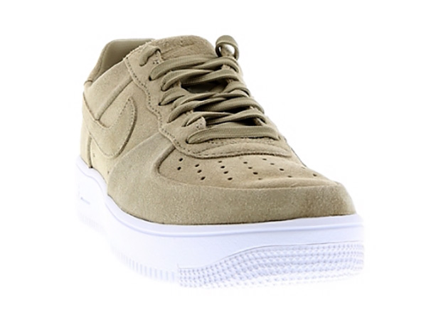 Nike Air Force 1 Bajo Universitarios De Ante Rojo 5s 4Bev4I8wH