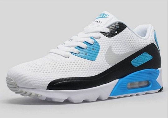 "Nike Updates The OG ""Laser Blue"" Air Max 90"