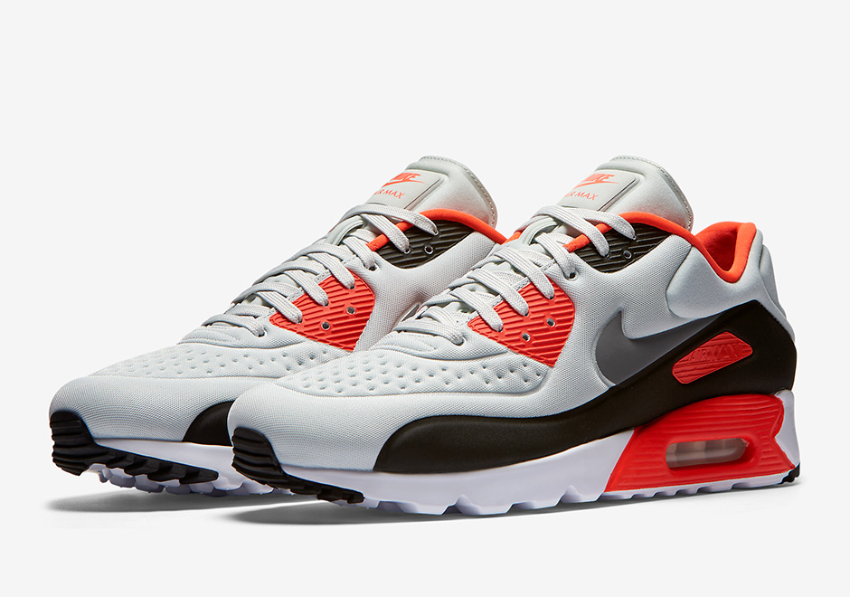 nike air force one low bleu - Nike Air Max 90 Ultra SE Infrared 845039-006 | SneakerNews.com
