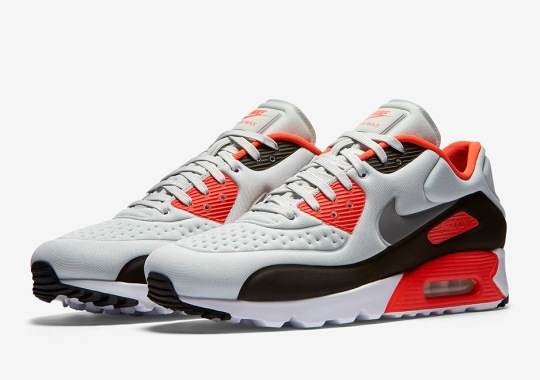 "There's Yet Another Version Of The Nike Air Max 90 ""Infrared"""