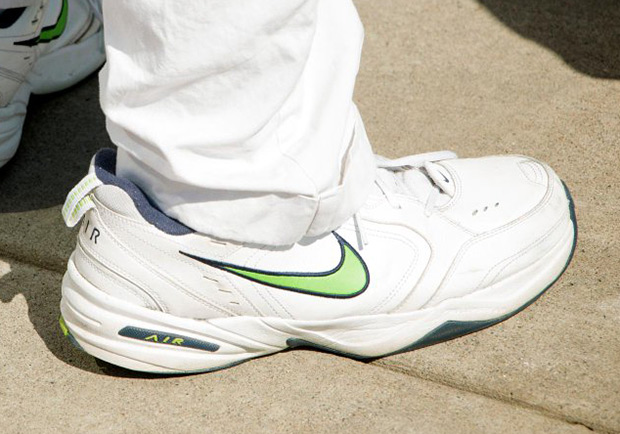 cheap for discount f6ddd cad80 Seahawks Coach Pete Carroll Loves Nike Air Monarchs Because Of His Insanely Wide  Feet