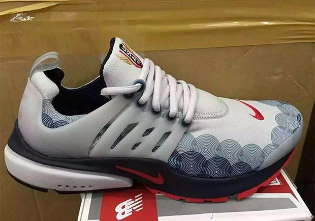 Nike Air Presto Olympic On Feet