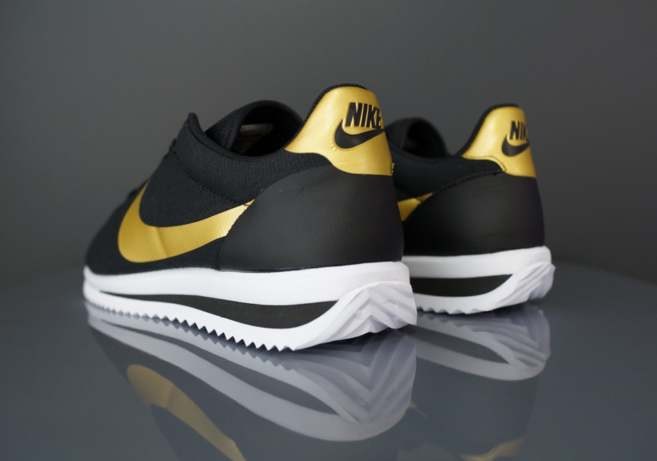 Nike Cortez Black And Gold