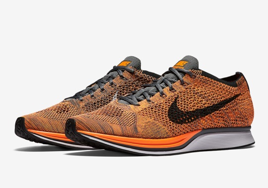 """Nike Flyknit Racer """"Total Orange"""" Releases Next Month"""
